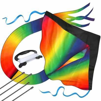 Large Rainbow Kite Only $9.45! (Reg. $25)