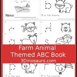 Free Farm Animals Alphabet Easy Reader