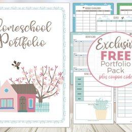 Free Homeschool Portfolio Pack – Limited Time!