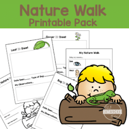 Free Nature Walk Printable Pack