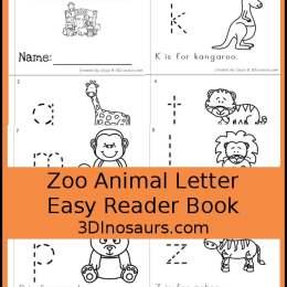 Free Zoo Animal ABC Easy Reader