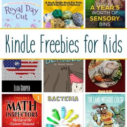 12 Kindle Freebies for Kids: Royal Day Out, The Math Inspectors, & More!