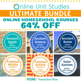 Online Unit Studies Ultimate Bundle Only $75! (64% Off!)