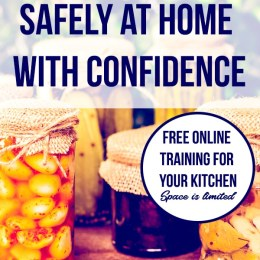 Free Home Canning Course