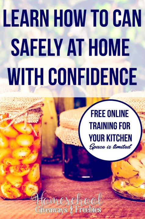 Free Home Canning Online Course
