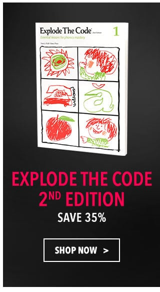 Explode the Code Curriculum Sale - 35% Off!