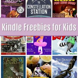 12 Free Kindle Books for Kids: Journey to Constellation Station, Kid Legends, & More!