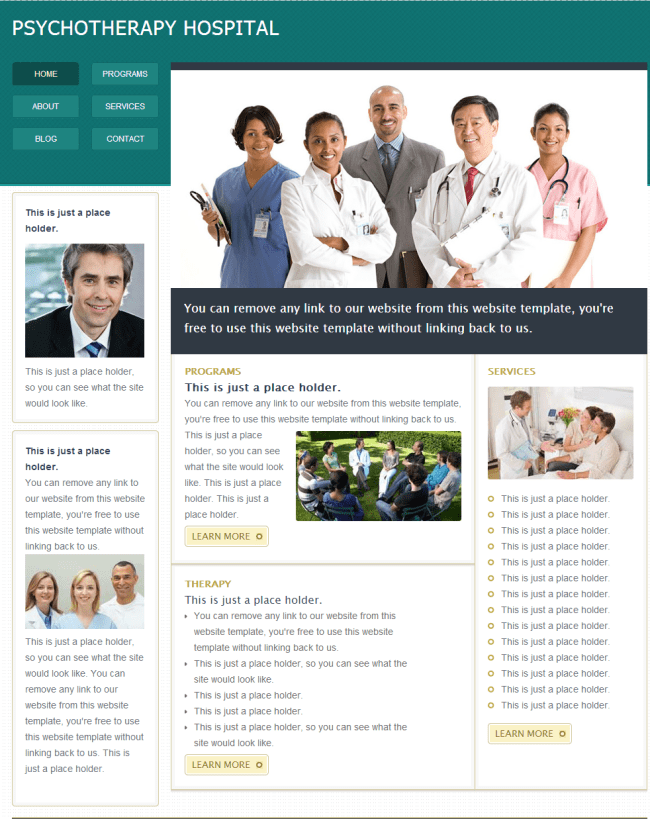 Medical Hospital Template