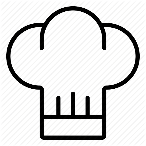 Cook chef hat icon 13715  Free Icons and PNG Backgrounds