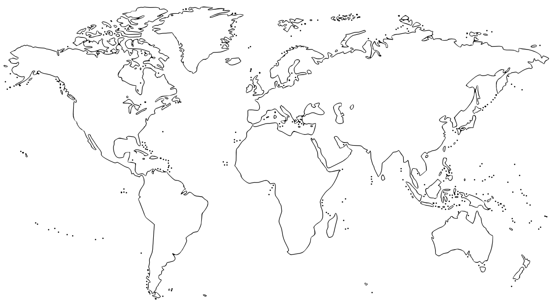 Download For Free World Map Png In High Resolution #35430