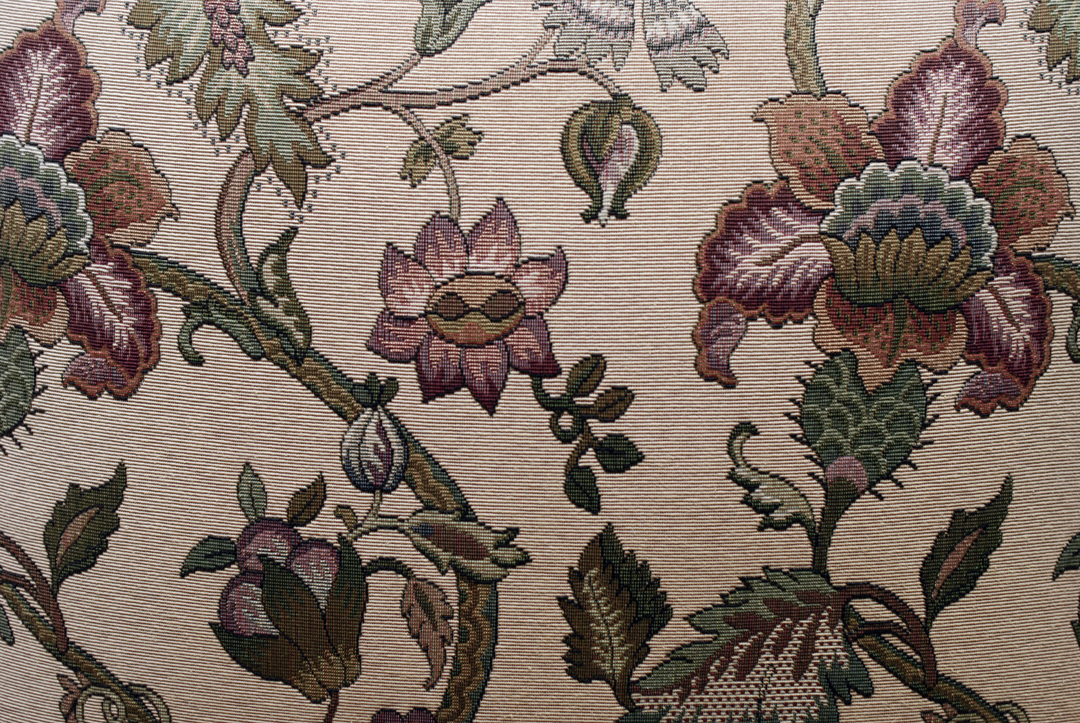 Free Stock Photo 1891Floral fabric background texture