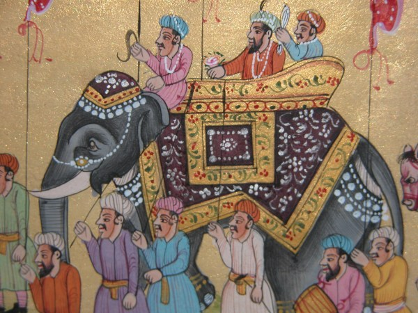 Free Stock 1874-india Rajasthan Elephant