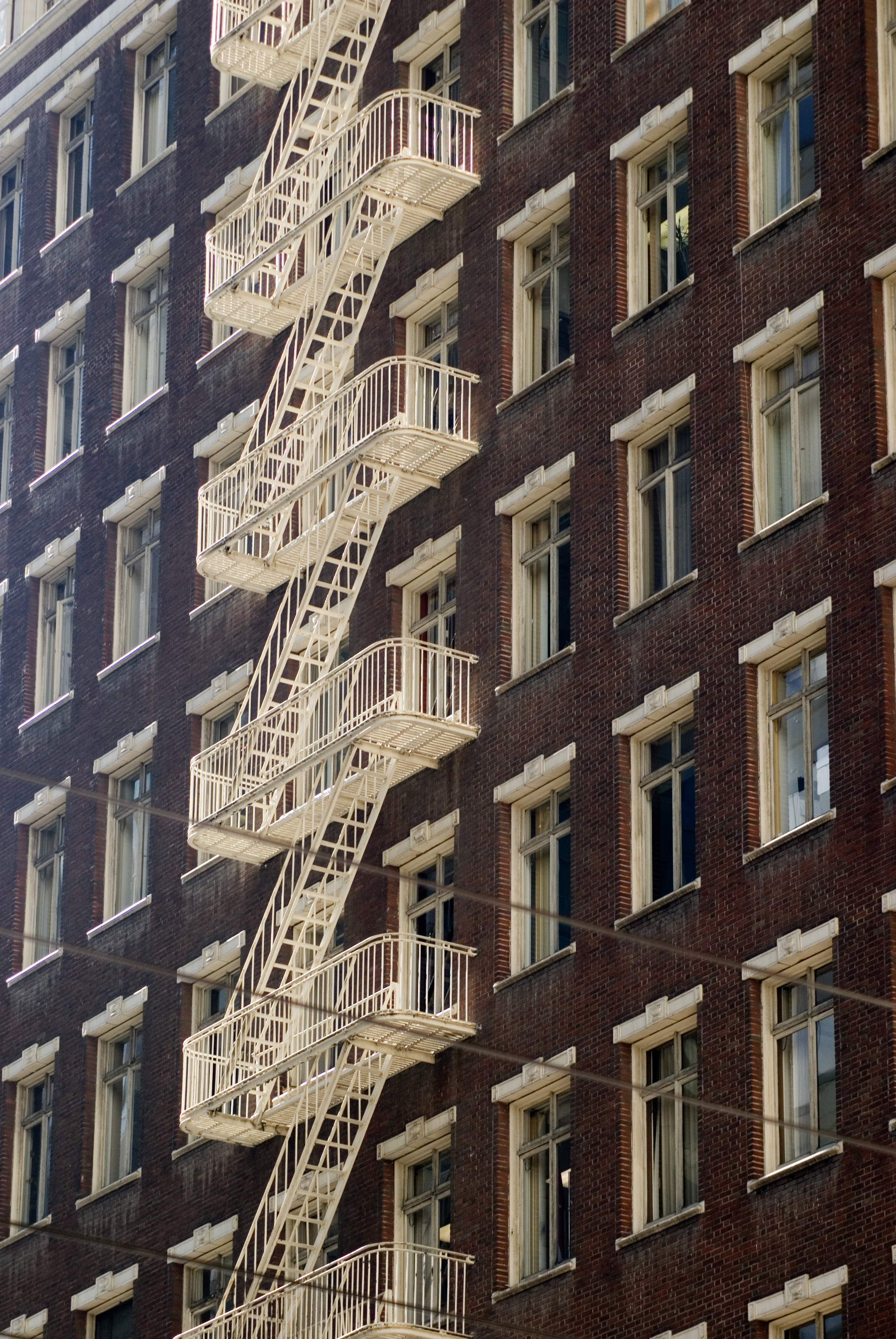Free Stock Photo 5557 Fire Escape  freeimageslive
