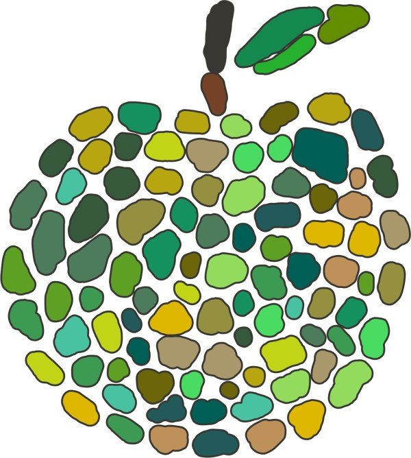 free stock 10316 apple mosaic