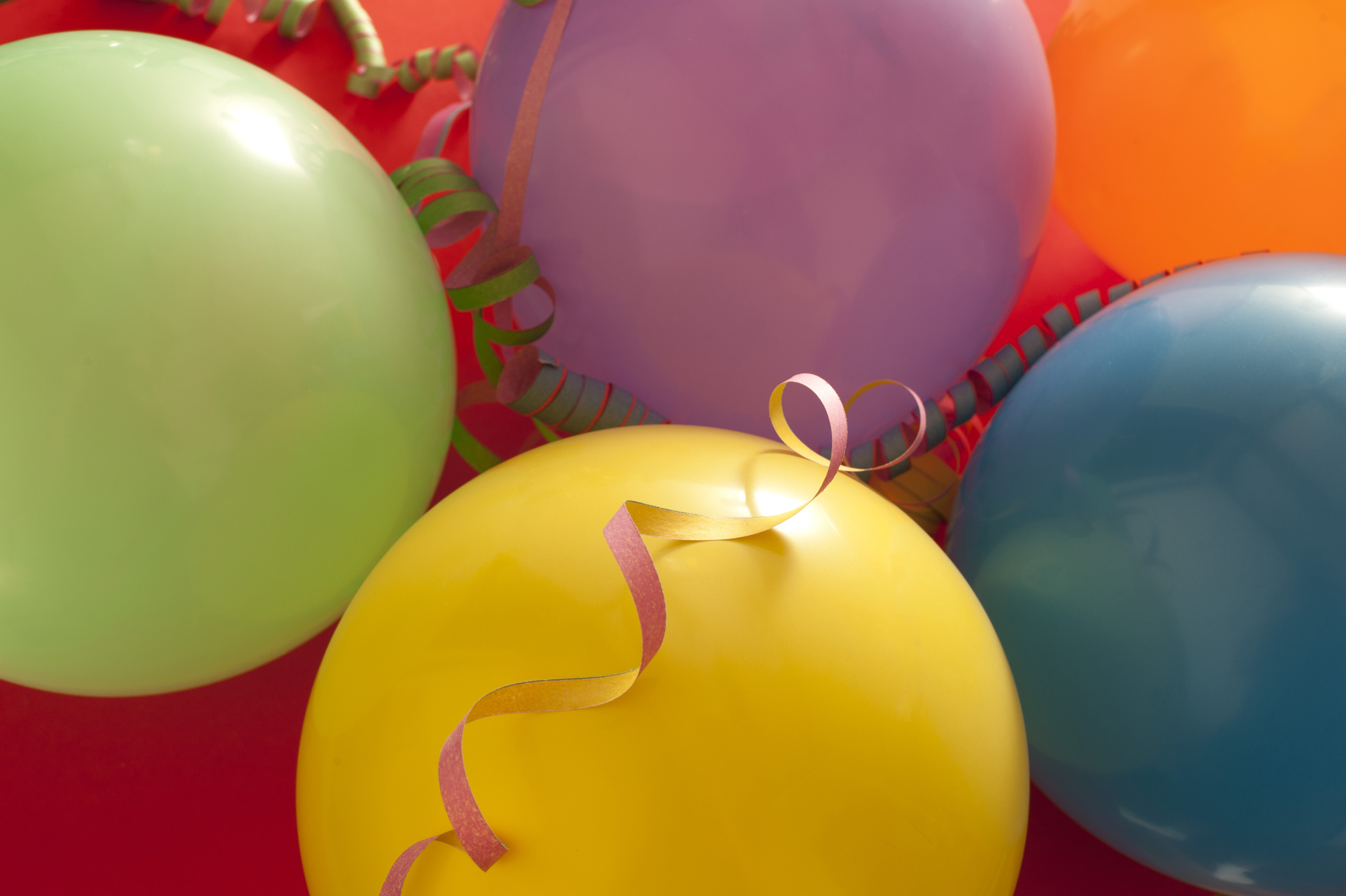 Wallpaper Happy Girl Free Stock Photo 11397 Party Background Of Colorful