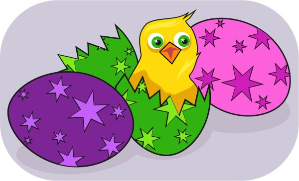 Easter Egg Clip Art Public-Domain