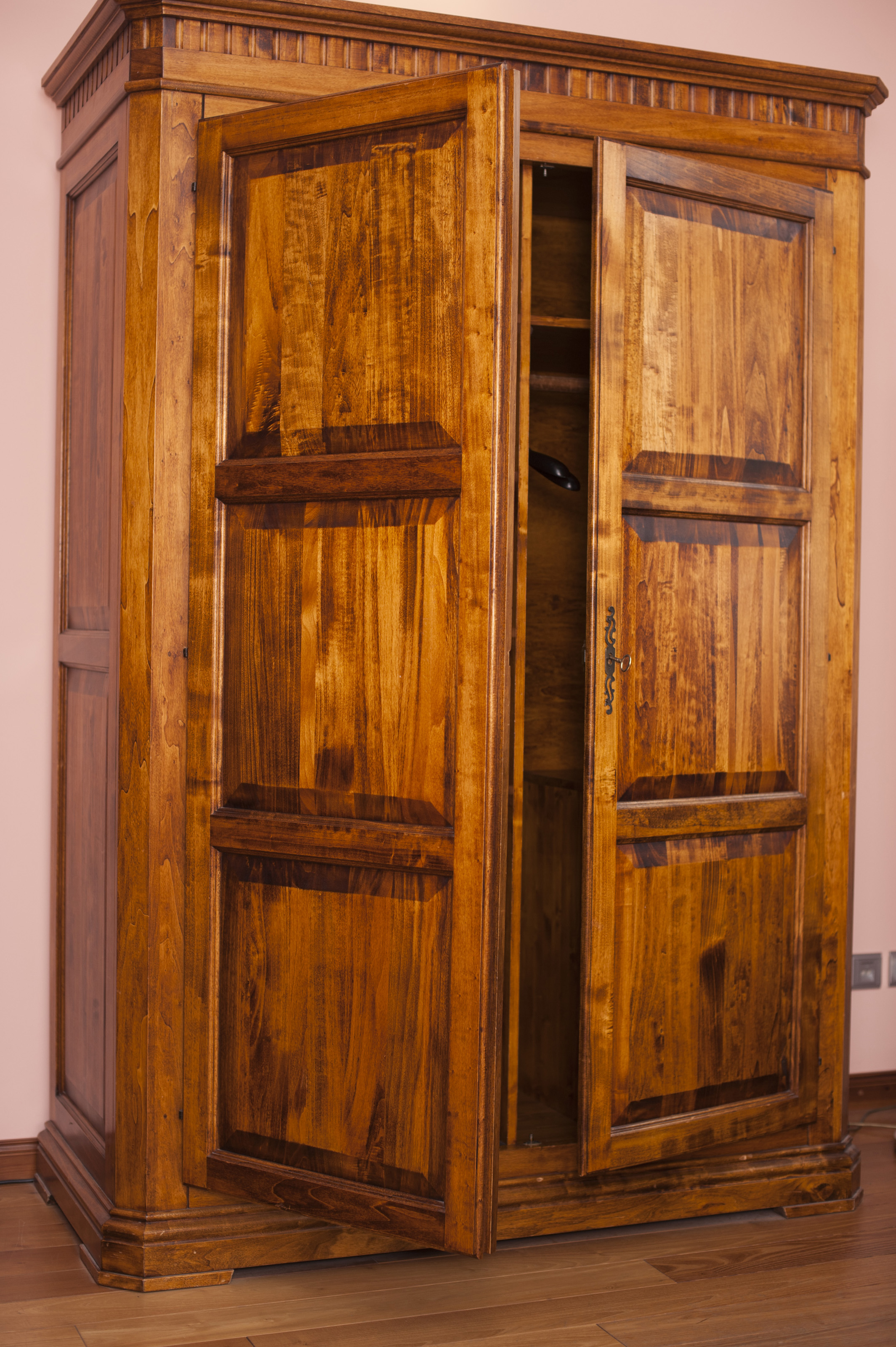 Free Stock Photo 8920 Old rustic wooden wardrobe