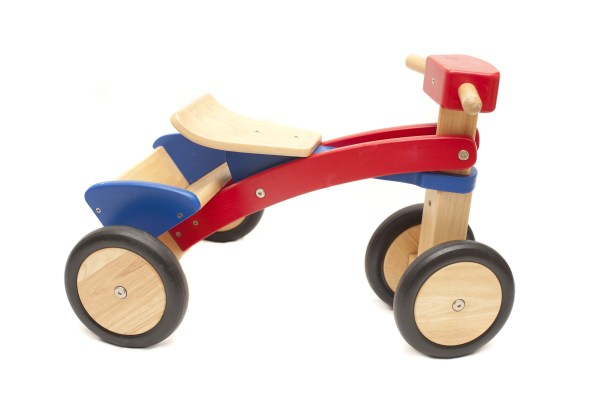 Free Stock 11982 Colorful Wooden Toy Tricycle