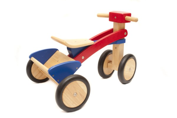 Free Stock 11987 Kids Wooden Toy Tricycle