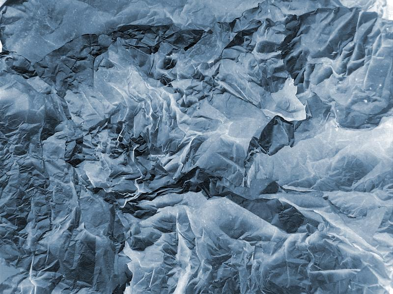 Free Stock Photo: Crumpled cloth or paper as topographical type of texture background or abstract lines and curves