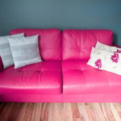 Pink Sofa Browse Uk Shallow Corner Free Image Of Stylish Leather