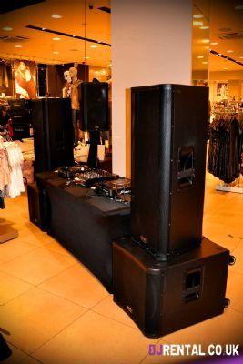 DJ Rental UK Nottingham  Sound Equipment Hire Company