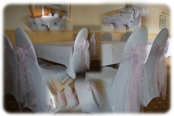 wedding chair cover hire bournemouth ergonomic pakistan cloverleaf covers decorator freeindex