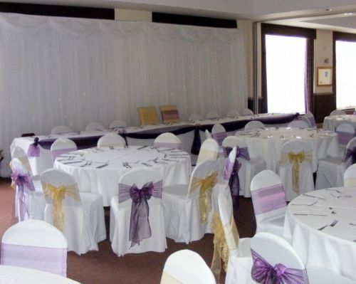 wedding chair covers mansfield leather recliner chairs harvey norman elegance - cover hire company in nottingham (uk)