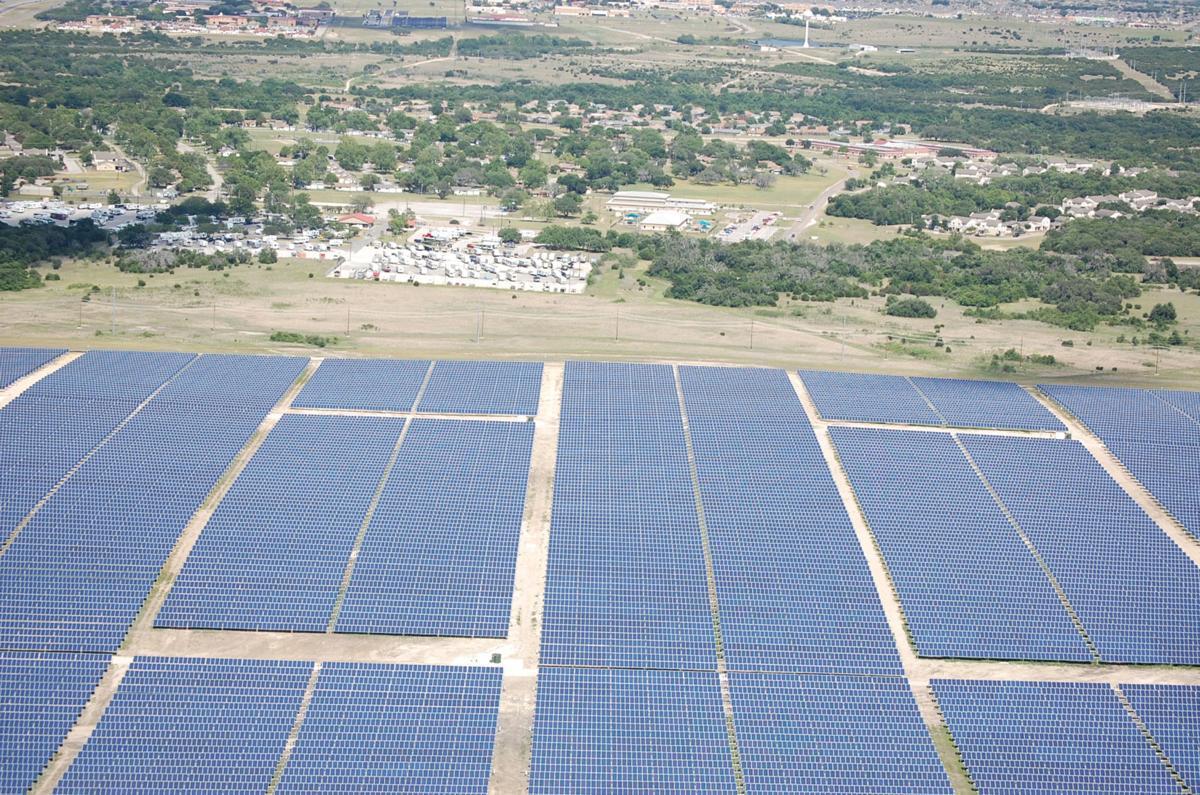 Ford Hood's solar farm