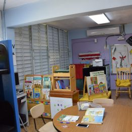 A classroom in the Segunda Unidad Federico Degetau school