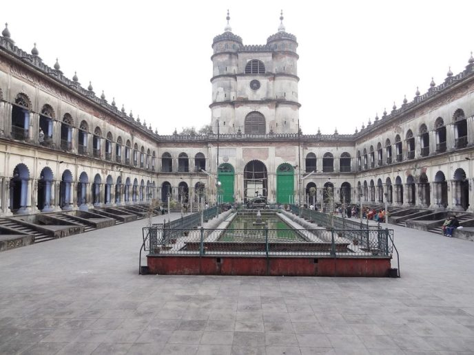 Hooghly_Imambara_Courty-Study on Internet