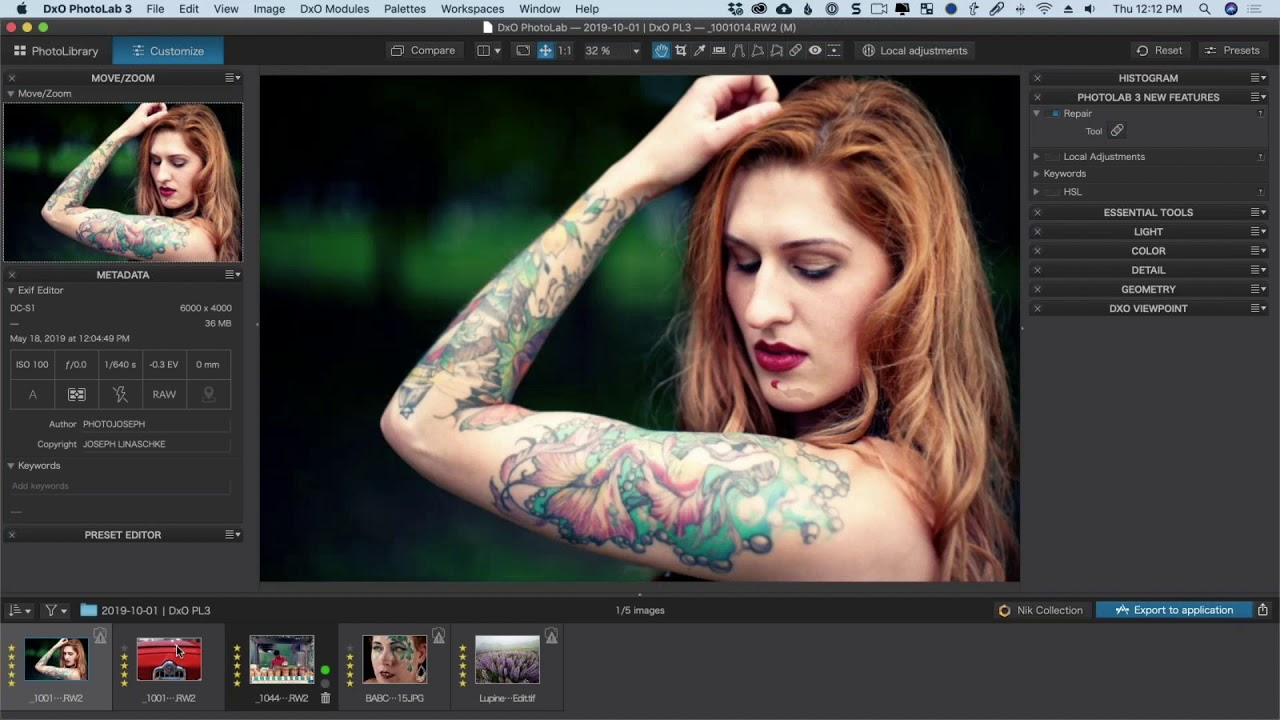 DxO PhotoLab 3.3.0 Build 4391 Elite Free Download