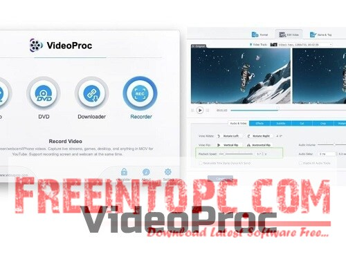 VideoProc 4 Free Download Windows and macOS