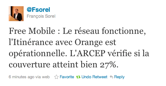 itinérance free mobile orange