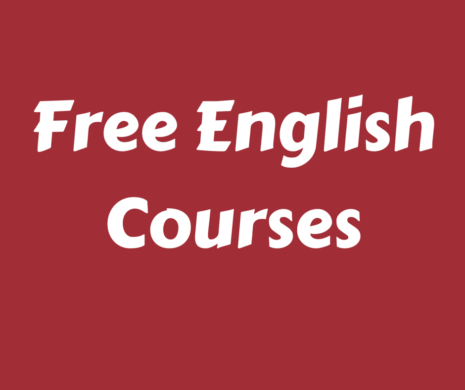 Free English Courses With Certificate