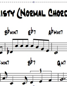 Here is the chord chart also misty with amazing reharmonizations rh freejazzlessons