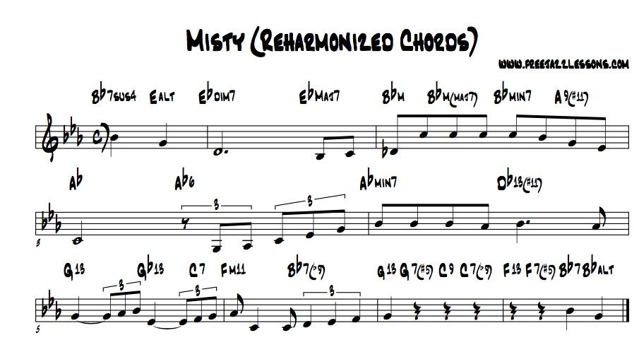 Smooth Jazz Chord Charts