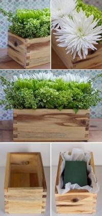 25 DIY Wood Planter Box Designs For Your Garden