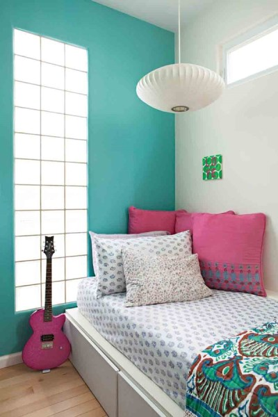 teenage girls bedroom paint color ideas 40 Easy Wall Painting Designs