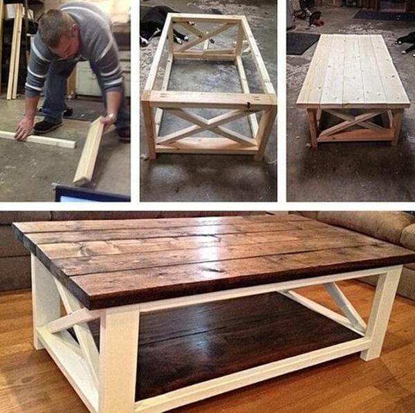 40 DIY Coffee Table Ideas