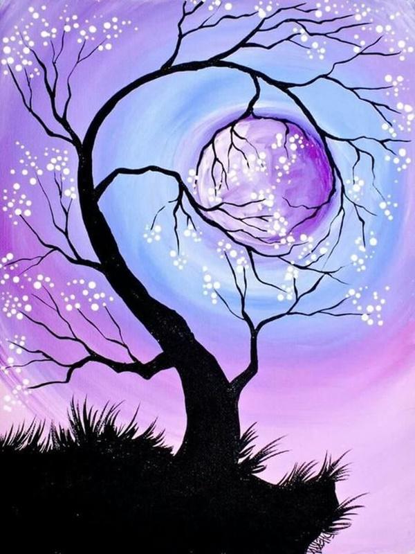 20 amazing tree painting