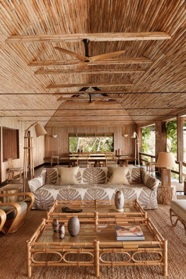 40 Rustic Bamboo Interior Designs And Crafts