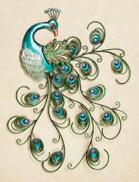 40 Unique Peacock Feather Wall Decor Ideas