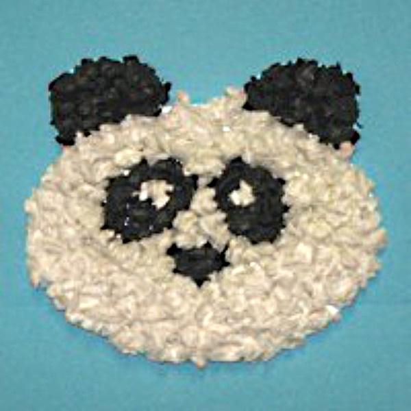 Tissue Paper Panda Bear