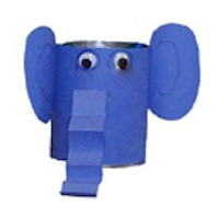 Recyled Elephant Pencil Holder
