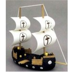 Image of Milk Carton Pirate Ship