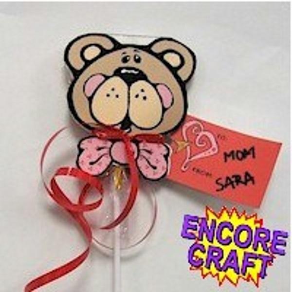 Image of Printable Lollipop Valentines