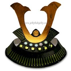 Image of Samauri Paper Plate Helmet