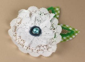 Victorian Paper Doily Flower