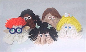 Image of Back To School Yarn Bugs